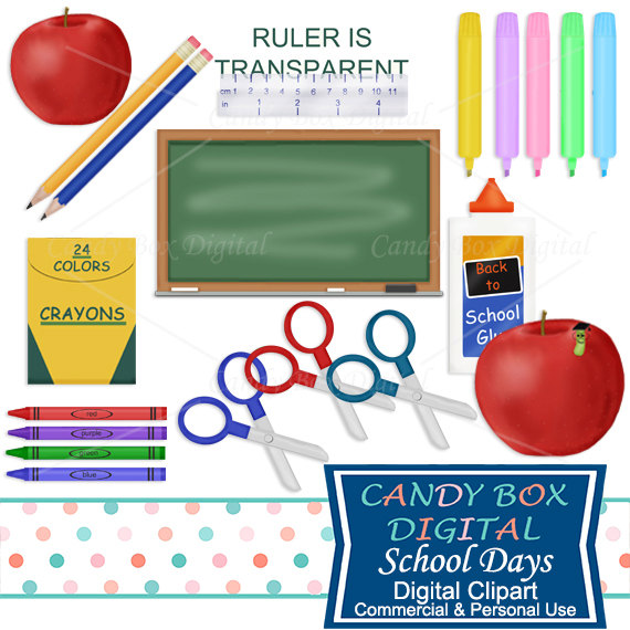 Crayon clipart student To Chalkboard Crayons Scissors Student