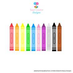 Crayon clipart ten Clip high Art Art Clipart