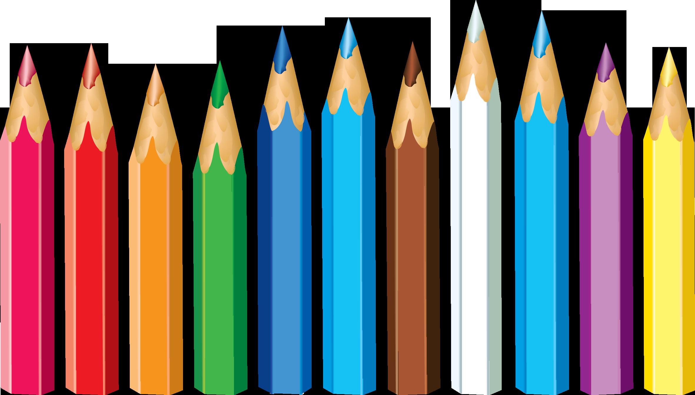 Crayon clipart ten PNG PNG Transparent All Pencil