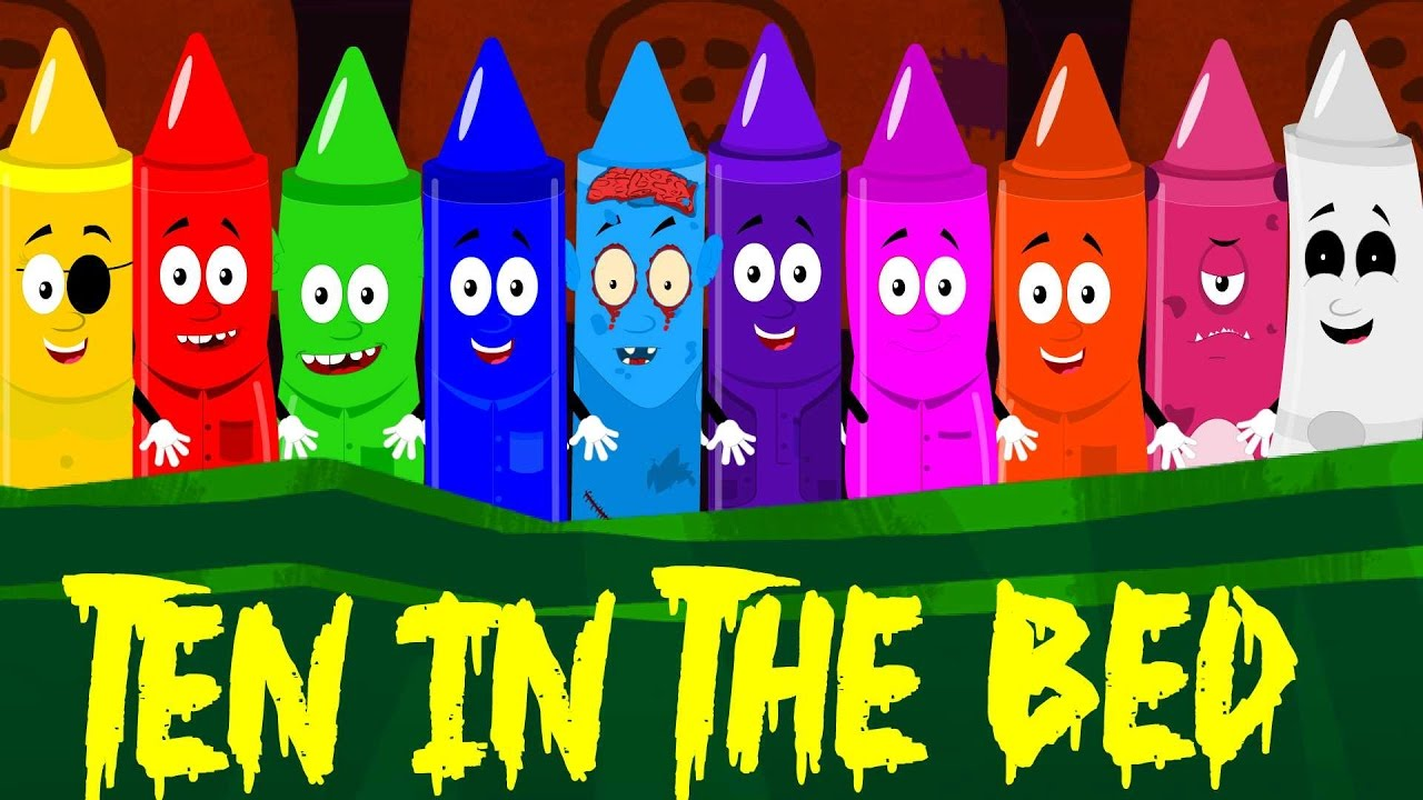 Crayon clipart ten In childrens nursery the rhymes