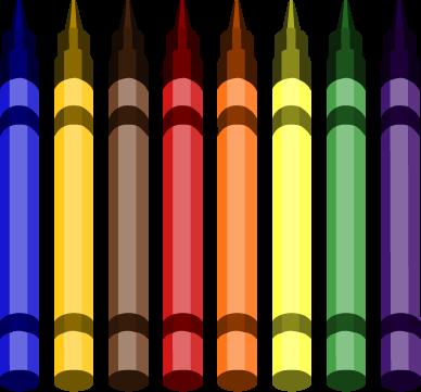 Crayon clipart transparent background Clip Crayons Art Crayons Clipart