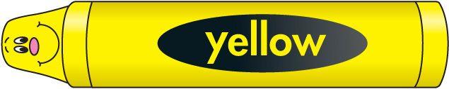 Crayon clipart yellow crayon Yellow Crayon Crayon Clipart Yellow