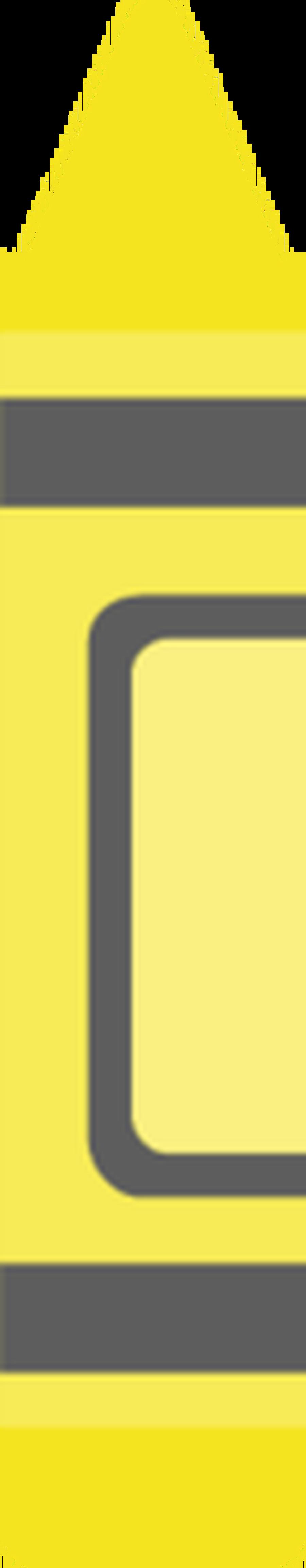 Crayon clipart yellow crayon Clipart Yellow Free Clipart ~
