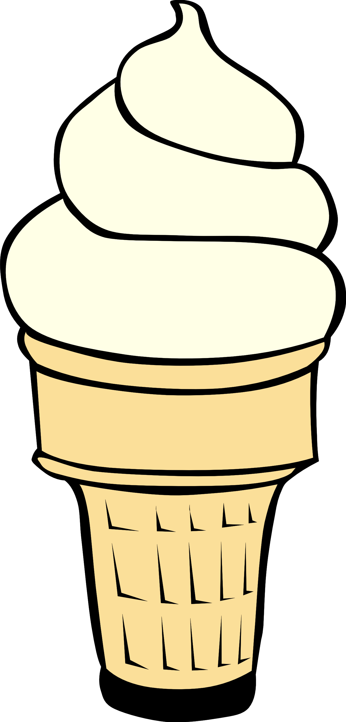 Amd clipart ice cream Clipart Black Ice White cream