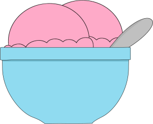 Bowl clipart vector Art Ice Images of Cream