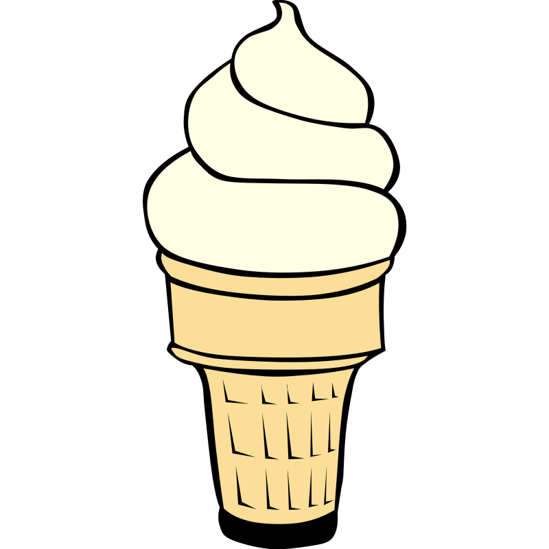 Drawn ice cream Ice cone clipart image creamne