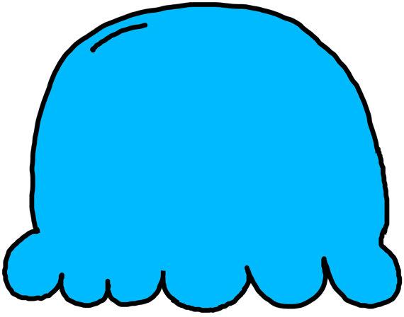 Ice Cream clipart top Commercial Blue Ice Ice to