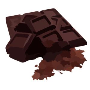 Bar clipart dark chocolate  image chocolate Clipart 27795