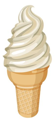 Waffle Cone clipart gelato Serve Soft CONE CREAM ICE