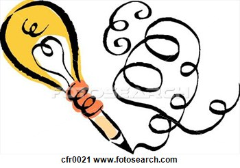 Creative clipart invention Writing Free Panda clipart writing