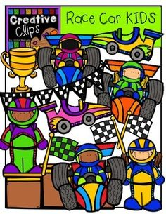 Creative clipart art subject Drums bundle from Car KIDS