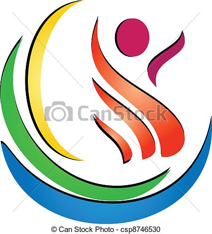 Creative clipart artwork Vector spa csp8746530 Figure logo