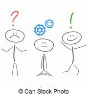 Creative clipart creative problem solving Problem problem Illustration solving Stock