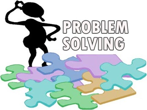 Creative clipart creative problem solving / / / Thinking Problem