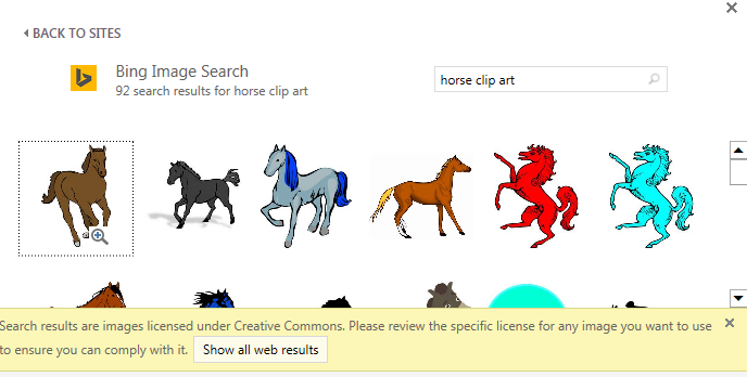 "Creative clipart powerpoint Of ""horse Searching clip art"""