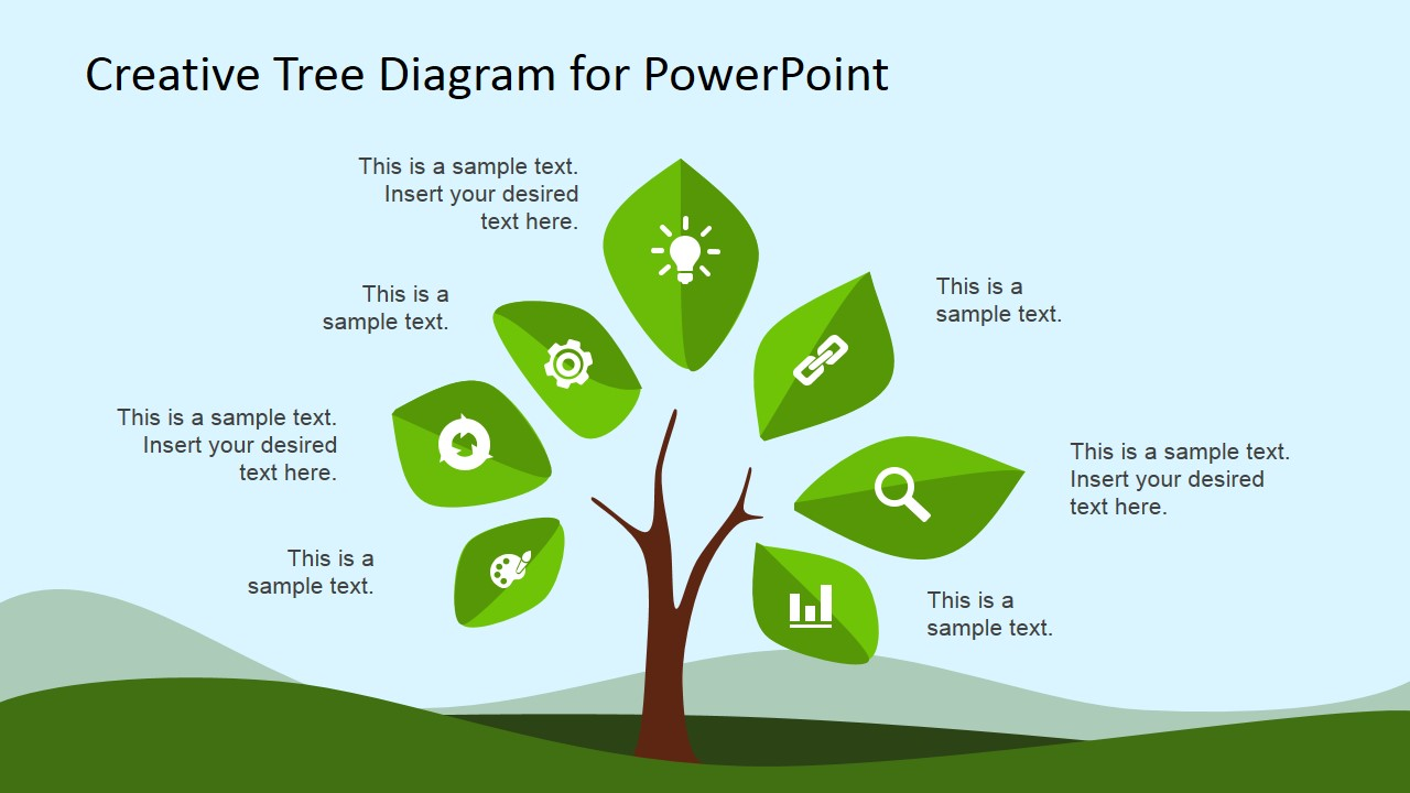 Creative clipart powerpoint Tree Plant Tree Clipart for