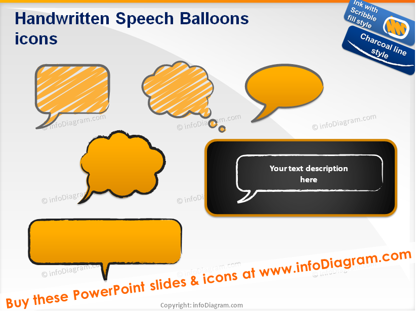 Creative clipart powerpoint Shapes) Sketches clipart (PPT Creative