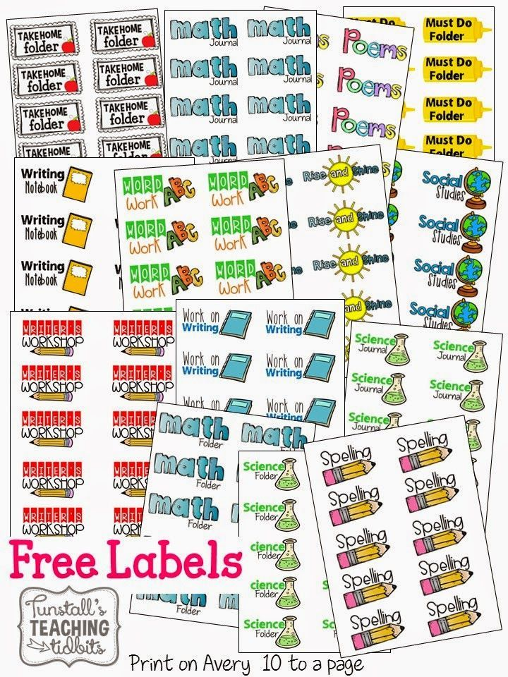 Creative clipart school subject Labels on 20+ Obsessed!! Label