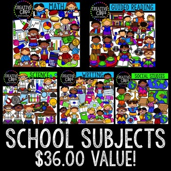 Creative clipart school subject Clipart} Subject by Clips Subject