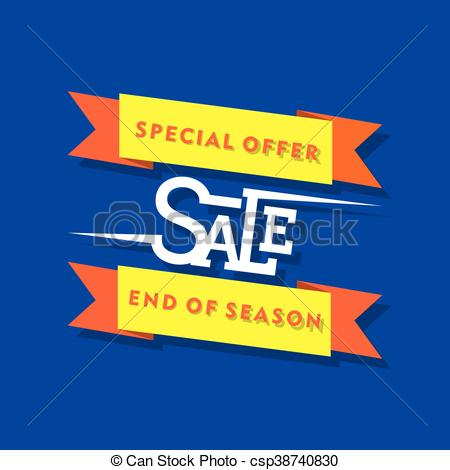 Creative clipart special Design sale special offer banner
