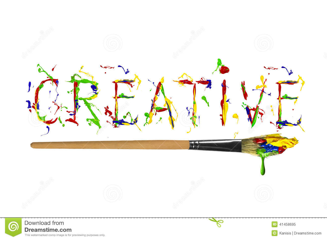 Creative clipart the word Clipart Word Creative Clipart Word