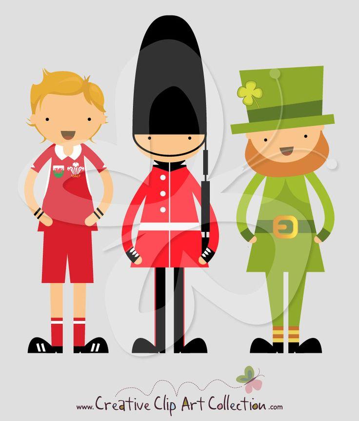 Creative clipart useful Illustration Clip on Ireland Wales