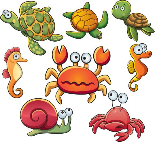 Marine Life clipart under sea Creatures Creatures Sea sea Sea