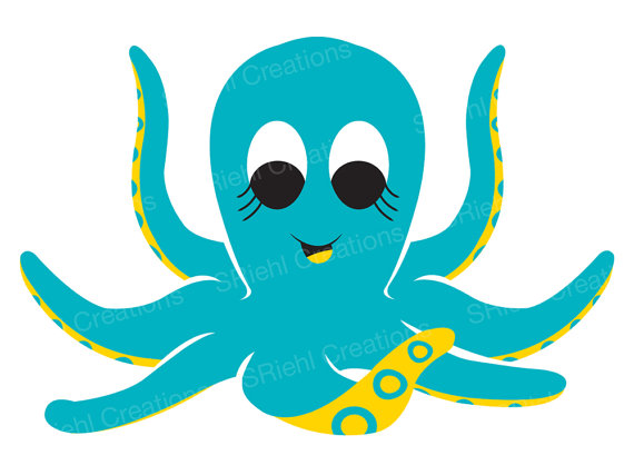 Sea Life clipart baby octopus #6