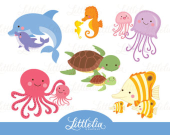 Sea Life clipart baby octopus #4