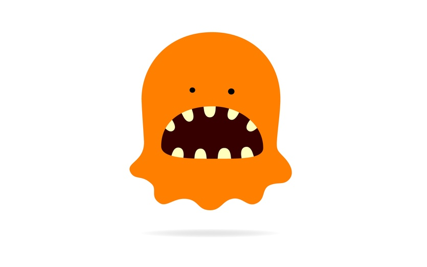 Monster clipart big mouth #2