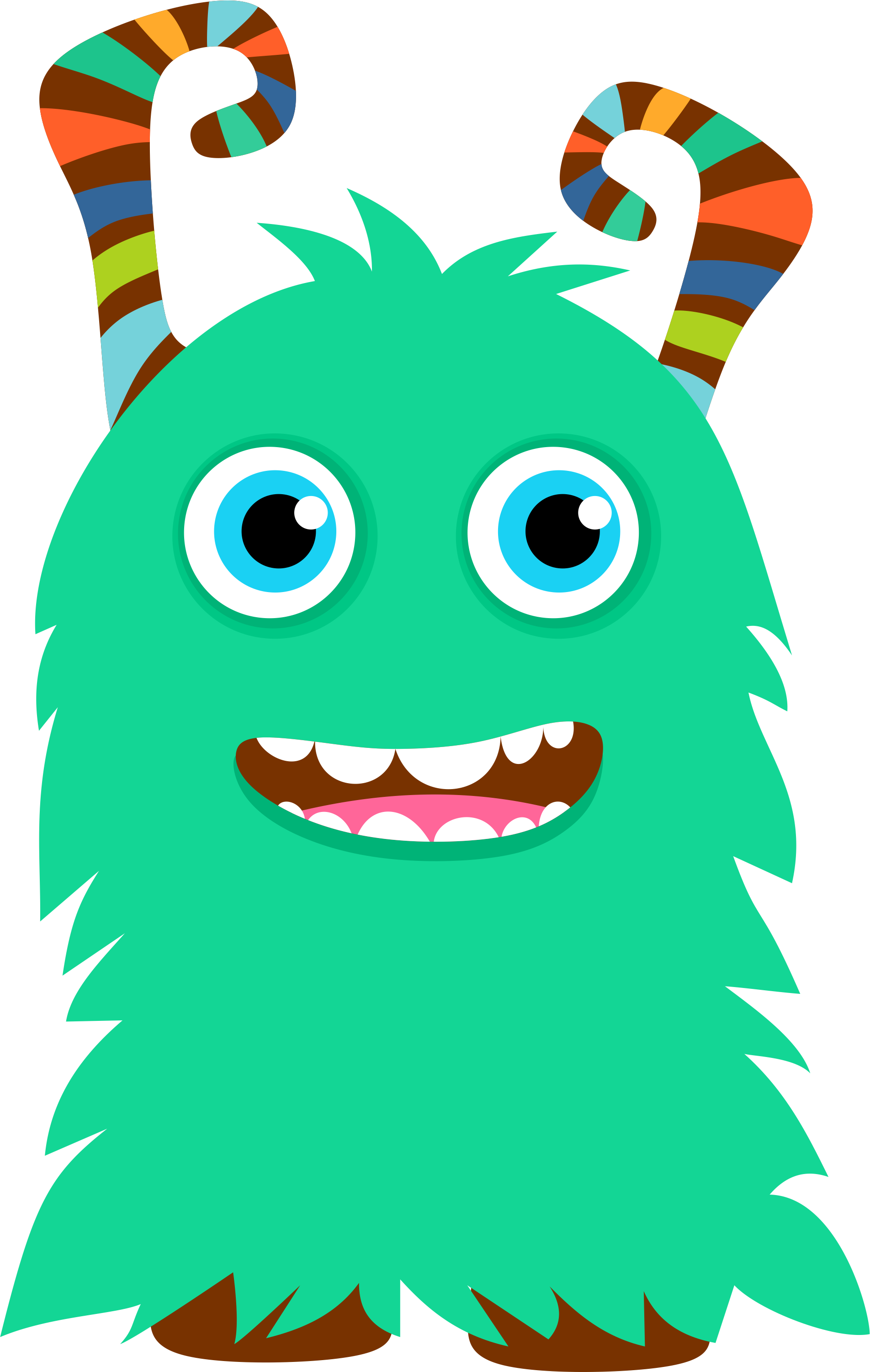 Pencil clipart monster Bed Monsters drawings Bed clipart
