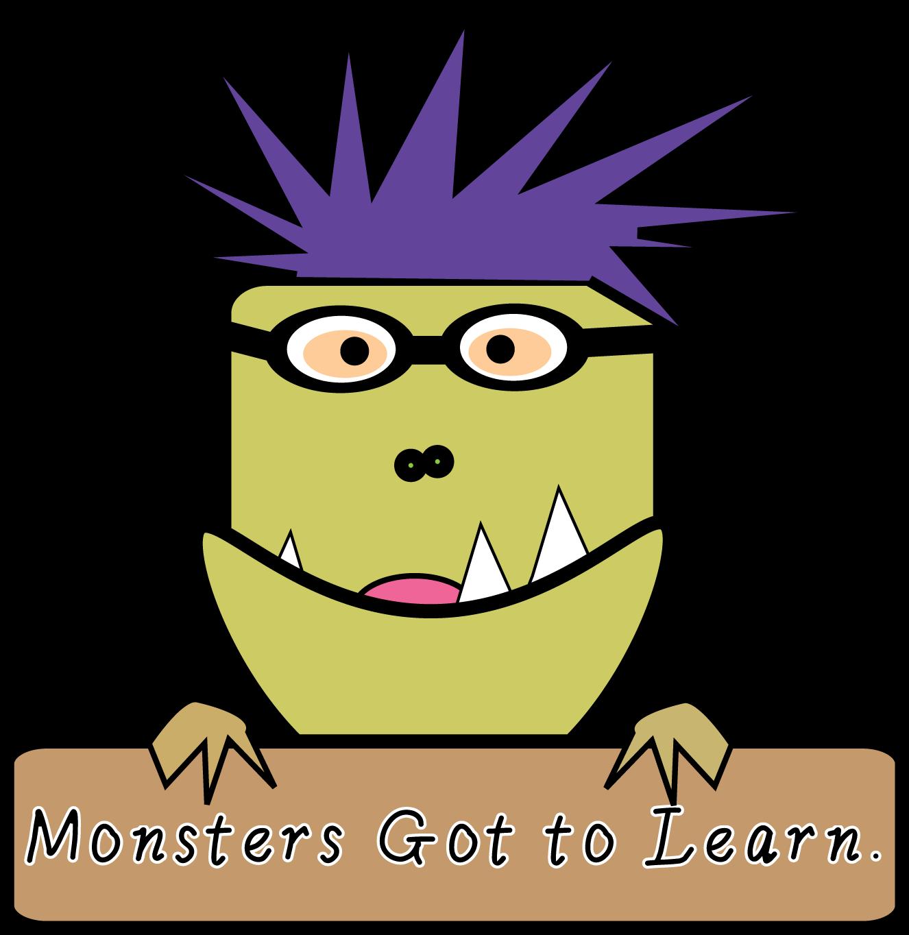 Monster clipart monster head #7
