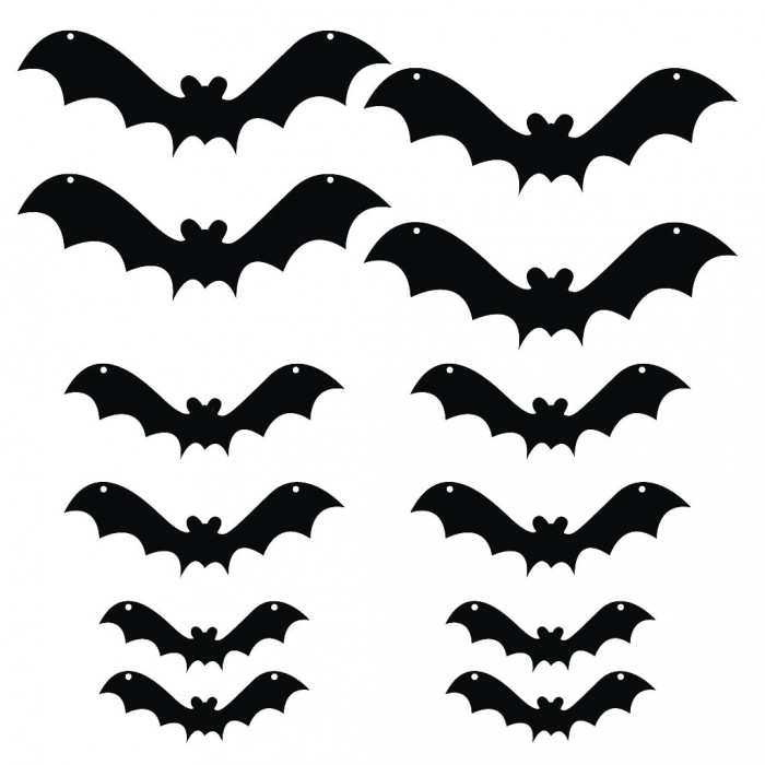 Bat clipart printable halloween decoration Art on Scary Download Clip