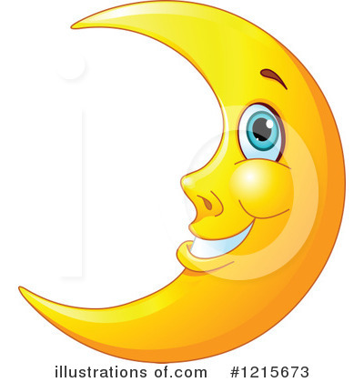 Lunar clipart crecent By Pushkin Illustration Crescent #1215673