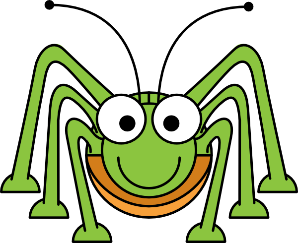 Bug clipart cricket Insect Cute collection 5 clipart