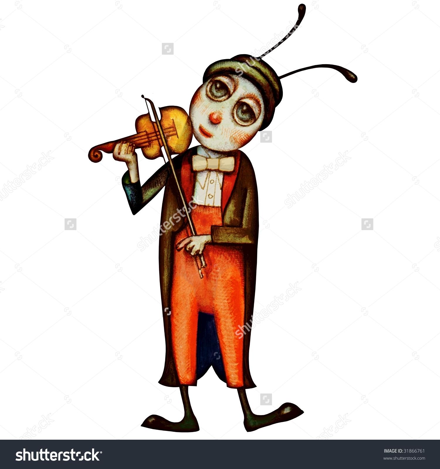 Cricket clipart singing #4