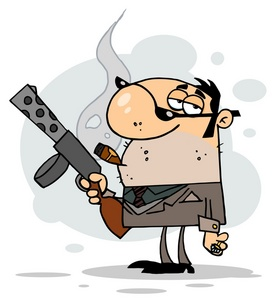 Criminal clipart Gun  Clipart and With