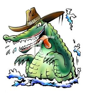 Caiman clipart wild animal Coming 34 Silly cartoon My