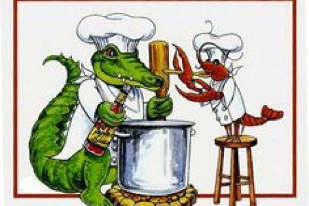 Alligator clipart gumbo Clip and Cajun Louisiana imageroyalty