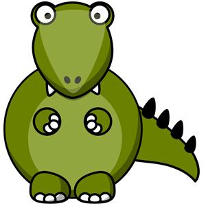 Crocodile clipart chibi (wmf download Tags: cartoon