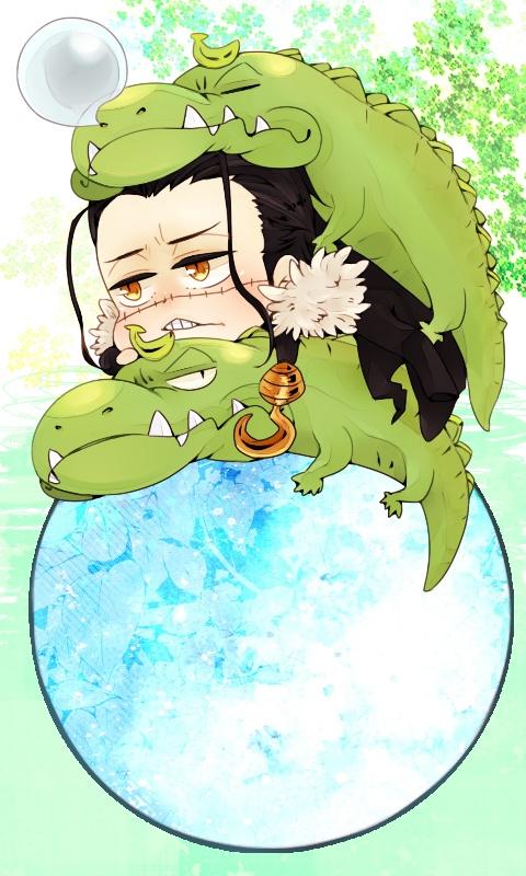 Crocodile clipart chibi  Pinterest on Chibi One