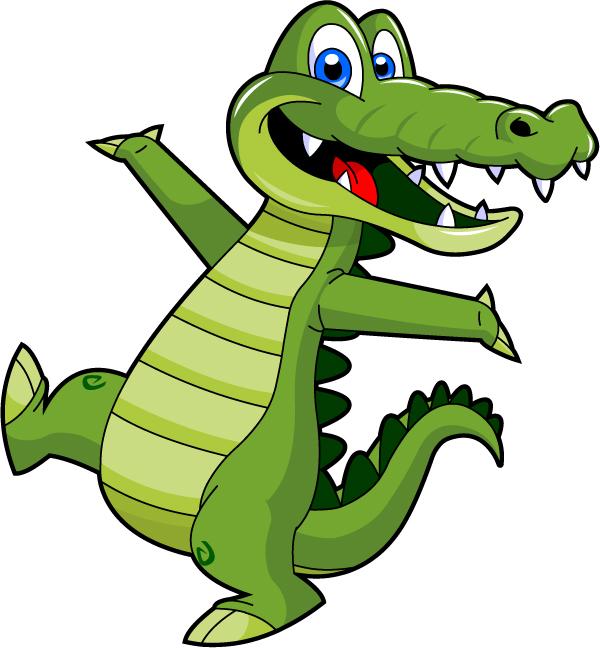 Crocodile clipart chibi Mascot Alley Gator a Need