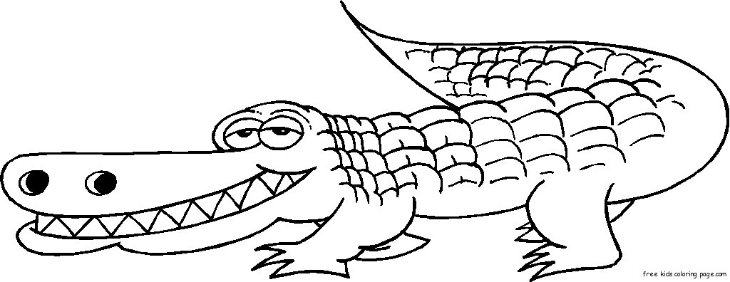 Alligator clipart two Clipart alligator hellokids  drawingimage