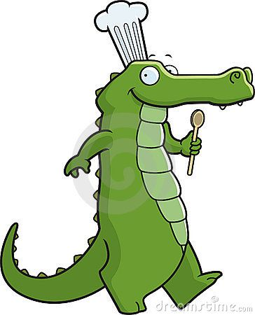 Alligator clipart sad  clipart Art cajun alligator