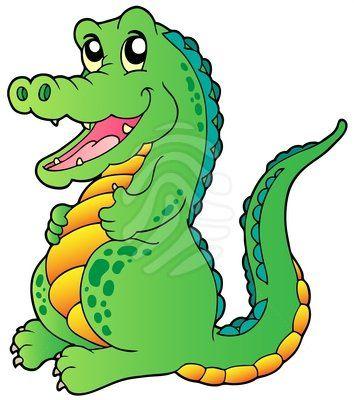 Crocodile clipart lake Images Halloween 25 Pinterest Mica
