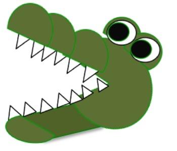 Crocodile clipart lake Crocodile Clipart Pinterest Crocodile cocodrilos