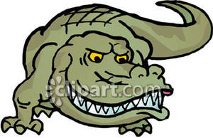 Alligator clipart scared Royalty Free Picture Clipart Crocodile