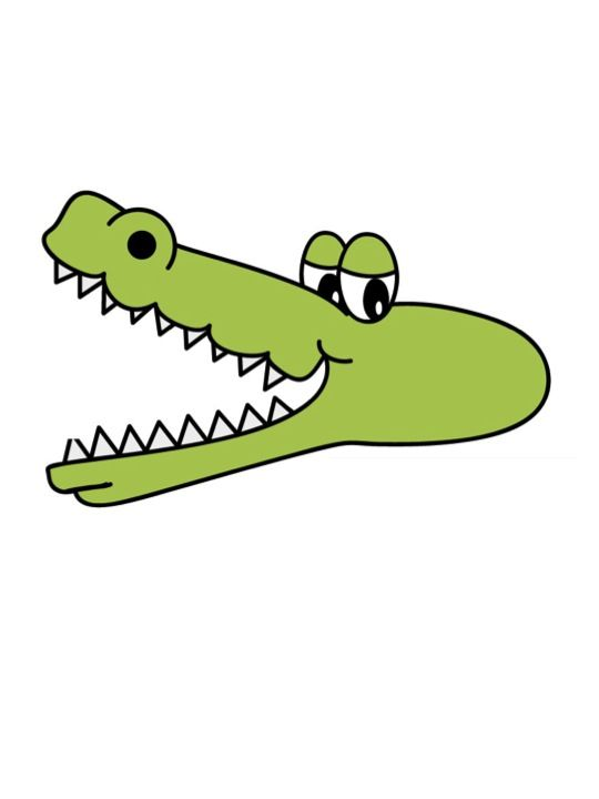 Alligator clipart chemical solution 17 alligator best with mouth