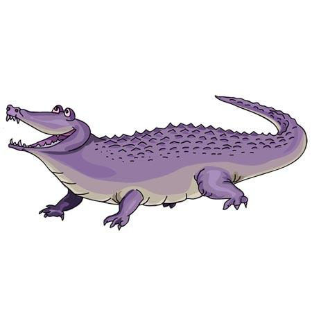 Alligator clipart purple Cliparts to add Zone you