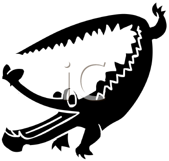Alligator clipart silhouette Alligator%20clipart%20black%20and%20white Silhouette Clipart Free Images